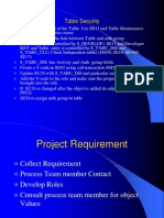 Program and Table Security Securityredesign