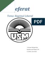 Regimul Liberal