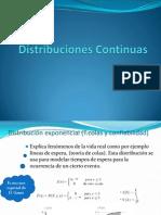 Probabilidad y Distribuciones Continuas