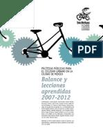 Politicas publicas para el ciclismo urbano en ciudad mexico