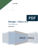 Materie Biologie X