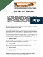 Dolomita y Sus Aplicaciones