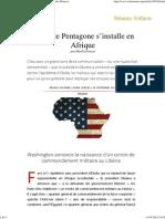 140920_Ebola, Le Pentagone s'Installe en Afrique, Par Manlio Dinucci