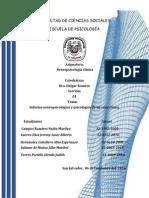Informes Neuropsicologico y Psicologico