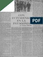 Con Evtushenko en La Patagonia