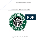 environmental analysis paper in starbucks Starbucks use the environmental scan tactics to create business strategies starbucks strategy relies on 1 environmental scan paper bob griffiths.
