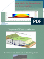 A Dual Continuum Model for Groundwater Flow in Karst Aquifers