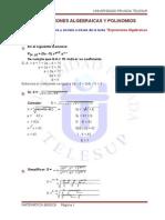 Expresiones Algebraicas y Polinomios[1]