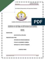 Proyecto Servicio de Sistema de Inyección Electronica Diesel