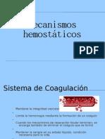Mecanismos Hemostaticos