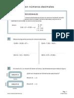 operaciones decimales