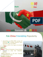 Pak-China Relation