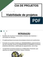 3 – Viabilidade de Projetos
