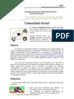 Conceptos sobre Comunidades Virtuales