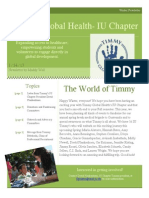 Timmy Global Health Winter Newsletter