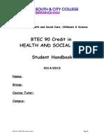 BTEC 90 Credit Handbook