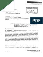 Citación a ministro del Interior por Comisión de Defensa