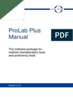 PROLab Plus Manual