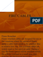 ppt on fire retardent cables
