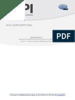 Guía Complementaria SoPI Misiones Satelitales de Observación de La Tierra I Sensores Pasivos Multiespectrales