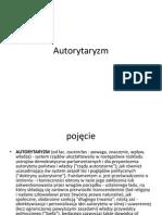 Autorytaryzm