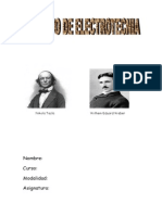 Trabajo Nikola Tesla , Eduard Weber