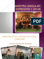 Muestra Lenguajes Expresivos 2 2014.pptx