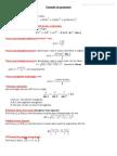 Formule Geometrie