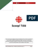 Guide d'Utilisation Scoop - Refonte Sites Télé v 1.2