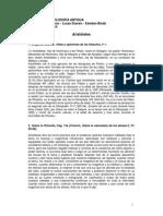 Antología de Aristóteles 1º 2014