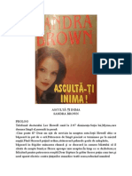 Sandra Brown - Asculta Ti Inima