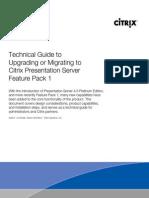 UpgradingMigratingtoCPS45FP1 SWAB