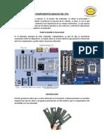 Componentes Basicos Del Cpu