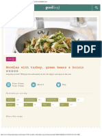 Noodles With Turkey, Green Beans & Hoisin _ BBC Good Food Middle East