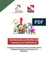 Cartilha Direitos Deficiencia Defensoria Publica