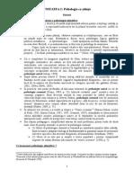 Tema - Sinteza Epistemologie