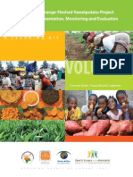 Engendered Orange-Fleshed Sweetpotato Project Planning, Implementation, Monitoring and Evaluation