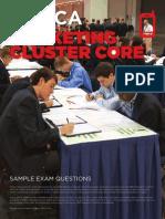 HS Marketing Cluster Sample Exam