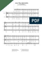 Palestrina - Jesu Rex Admirabilis