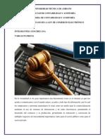 Ensayo Ley Del Comercio Electronico Patricia Vargas