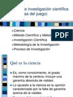 3 Ciencia Investigación Científica y Metodología