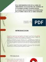 Pasantia Sobre La Implementacion de La Linea de (1) Correg