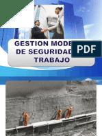 Gestion Moderna de Seguridad de Trabajo 29 de Agosto 2014