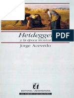 Heidegger Y La Epoca Tecnica