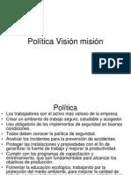 Política Visión SMisión