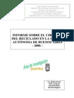 Informe Circuito Del Reciclado 2006