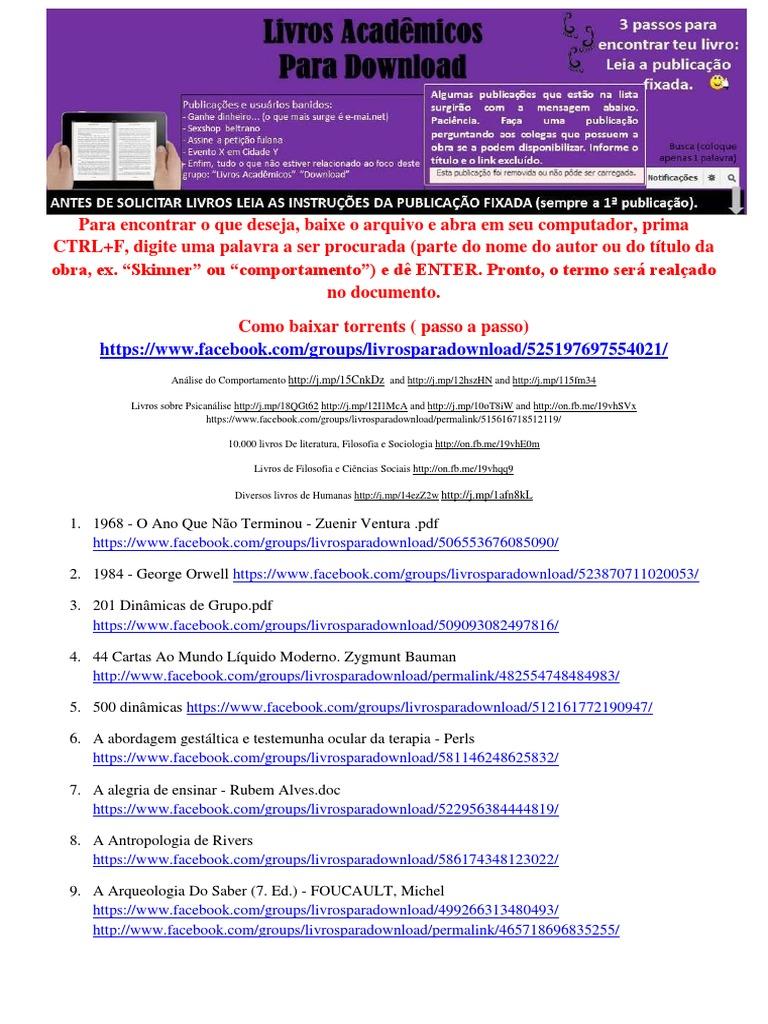Livros acadmicos para download 1536673668v1 fandeluxe Image collections