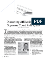 Davison - Dissection Affidavits Under Supreme Court Rule 191(a).pdf
