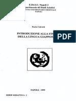 Paolo Calvetti - Introduzione alla storia della lingua giapponese