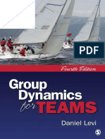 Group Dynamics for Teams 4th ed by Daniel Levi